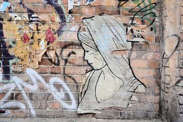 Street-Art in der Innenstadt von Berlin