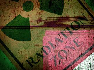 grunge radiation zone collage