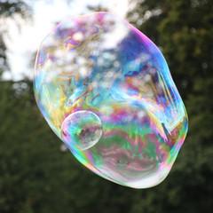 bunte Seifenblasen
