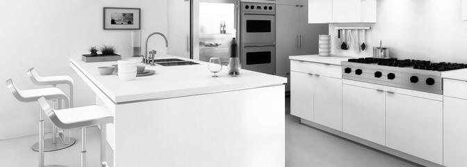 Kitchen in White