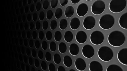 Black speaker lattice background