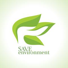 Hands Leaf Green Nature Natural Health design template