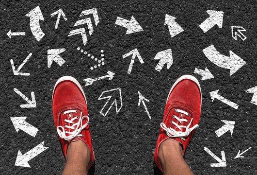 Welche Richtung einschlagen?