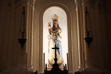 マカオ 聖ドミニコ教会 聖母子像