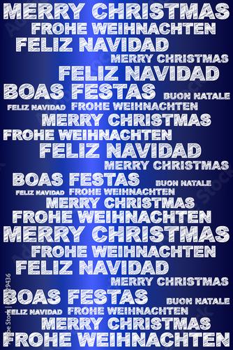 Frohe Weihnachten Auf Allen Sprachen.Frohe Weihnachten In Verschiedenen Sprachen Stockfotos Und