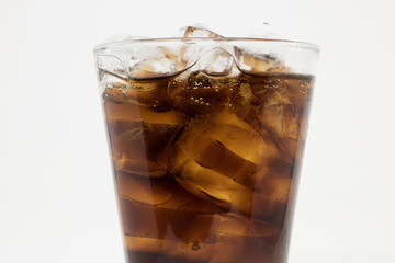soft drink  white isolate Background