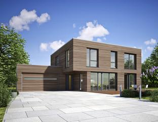 Haus modern Holz
