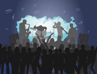 Rock Concert musical background
