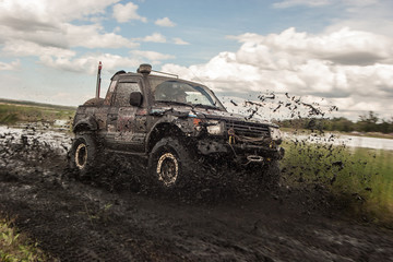 Race in the mud
