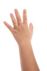 eczema on baby's hand