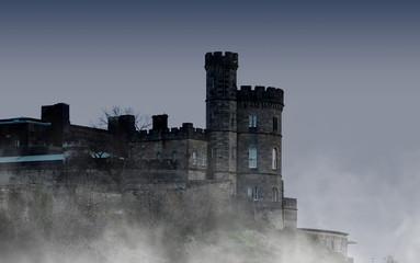 Fotobehang Kasteel Old castle in Edinburgh