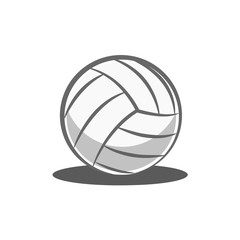 volley ball isolated on white background