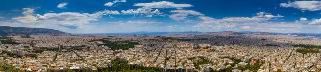 Huge Panorama View of Athens