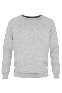 plain light grey jumper sweater on white background