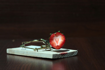 Strawberry in the mousetrap diet