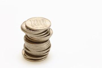 日本円 百円コイン