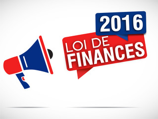 mégaphone : loi de finances 2016