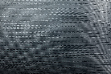 macro picture of a black leather texture