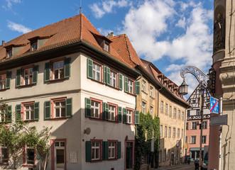 Wall Mural - Fachwerkhäuser Baustil in Bamberg