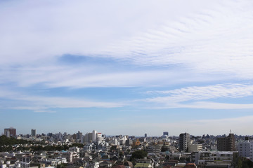 Views of the Tokyo residential area