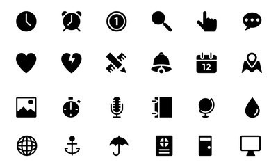 Universal Web and Mobile Vector Icons 8