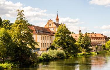 Blick auf Residenzschloss Bamberg