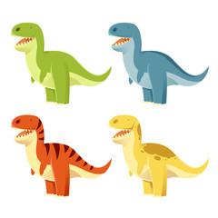 Set of t-rex