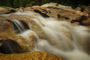 Rapid was shot by long exposure to have a effect of silky smooth water flow.
