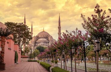 Sultan Ahmet Mosque (Blue Mosque),Istanbul - Turkey