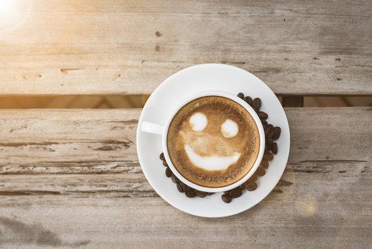 smile latte