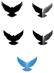 Dove logo icons