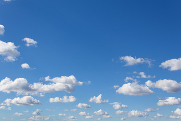 blue sky and clouds - blue sky with clouds
