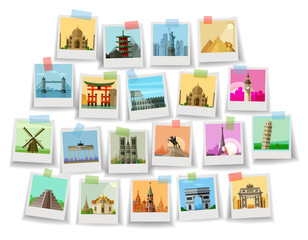 travel. historic architecture of the world