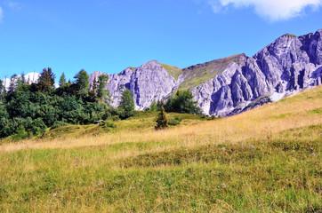 Ladurns Valley -racines, mountain cavallo, South Tyrol, Italy