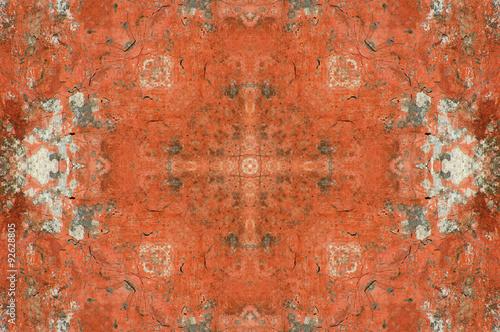 Sfondo Effetto Marmo Di Colore Arancio Stock Photo And Royalty