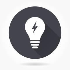 Lamp icon.