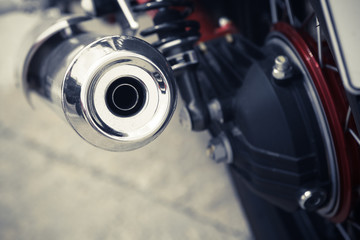 Motorcycle exhaust