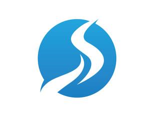 R, S, River Logo