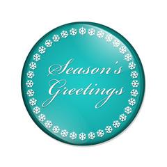 Season's Greetings Button