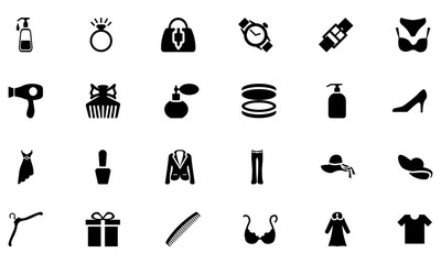 Fashion Vector Icons 2