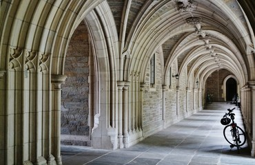 Gothic arches in an Ivy League university