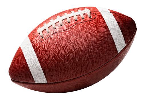 American College High School Football on White
