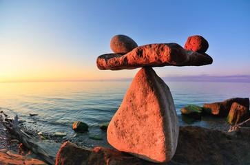 Balance on coast