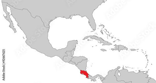 Costa Rica Karte Mittelamerika.Mittelamerika Costa Rica Stockfotos Und Lizenzfreie Vektoren Auf