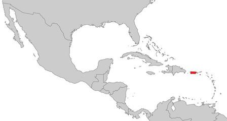 Mittelamerika - Puerto Rico