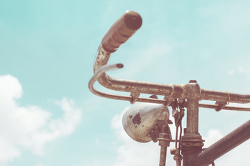 In de dag Fiets old bicycle vintage