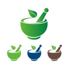 Simple Bowl of Traditional Herb Medicine
