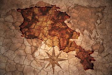vintage armenia map