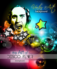 Disco Club Flyer Template for your Music Nights Event.