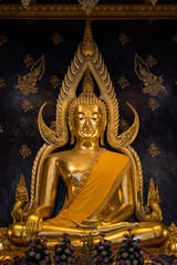 Chinnarat Buddha sculpture